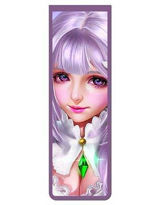 Marcador De Página Magnético Emilia - Re:Zero - MAN913