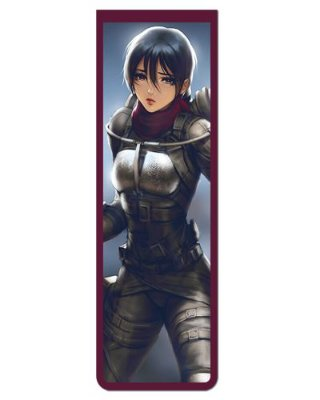 Marcador De Página Magnético Mikasa - Attack on Titan - MAN936