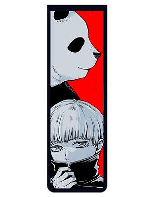 Marcador De Página Magnético Panda e Inumaki - Jujutsu Kaisen - MAN990