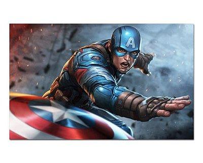 Ímã Decorativo Capitão América - Marvel Comics - IQM91