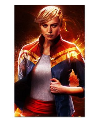 Ímã Decorativo Capitã Marvel - Marvel Comics - IQM95