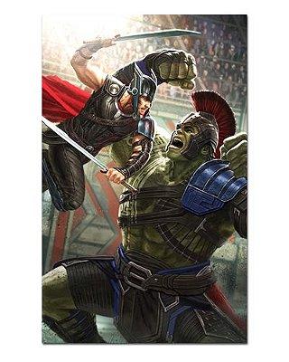 Ímã Decorativo Thor e Hulk - Marvel Comics - IQM103