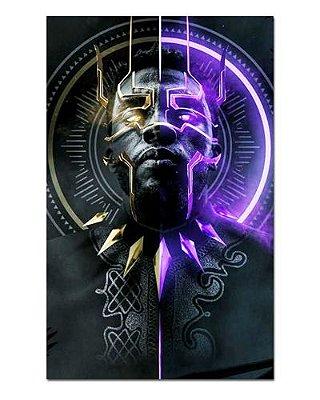 Ímã Decorativo Pantera Negra - Marvel Comics - IQM104