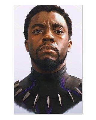 Ímã Decorativo Pantera Negra - Marvel Comics - IQM111