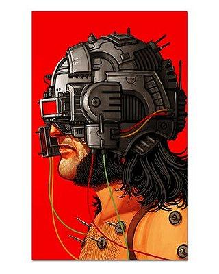 Ímã Decorativo Wolverine - X-Men - IQM118
