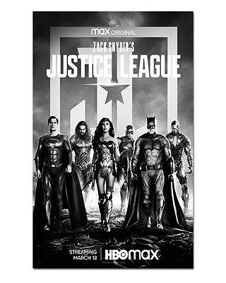 Ímã Decorativo Pôster Justice League Synder Cut - IPF688