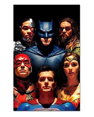 Ímã Decorativo Liga da Justiça - DC Comics - IQD108