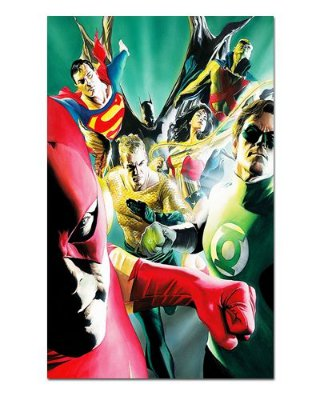 Ímã Decorativo Liga da Justiça - DC Comics - IQD110