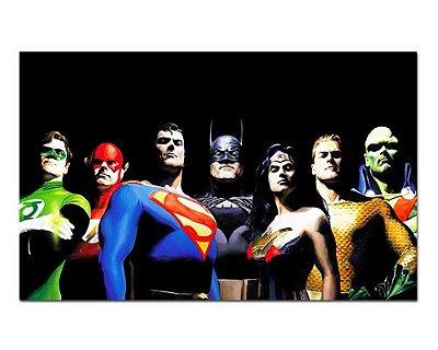 Ímã Decorativo Liga da Justiça - DC Comics - IQD114