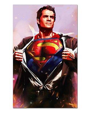 Ímã Decorativo Superman - DC Comics - IQD117