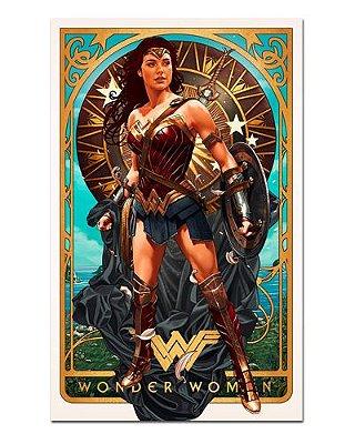 Ímã Decorativo Wonder Woman - DC Comics - IQD125