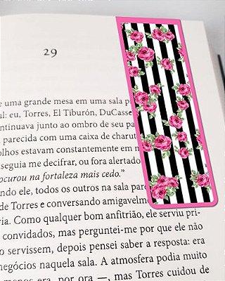 Marcador De Página Magnético Flores - Cute - MFE83