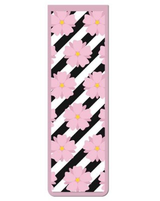 Marcador De Página Magnético Flores - Cute - MFE84