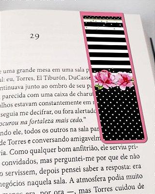 Marcador De Página Magnético Flores - Cute - MFE85