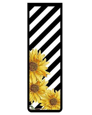 Marcador De Página Magnético Flores - Cute - MFE86