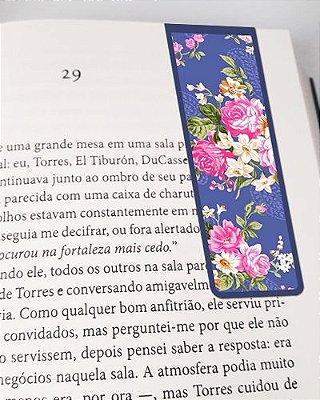 Marcador De Página Magnético Flores - Cute - MFE87