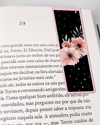 Marcador De Página Magnético Flores - Cute - MFE92