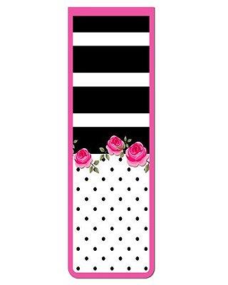 Marcador De Página Magnético Flores - Cute - MFE93
