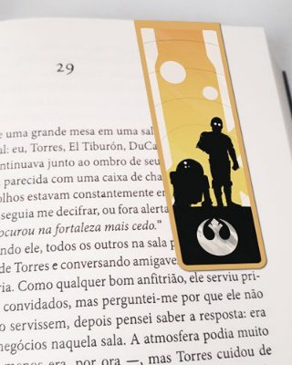 Marcador De Página Magnético R2-D2 e C-3PO - Star Wars - MFI316