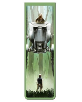 Marcador De Página Magnético Han Solo e Chewbacca - Star Wars - MFI325