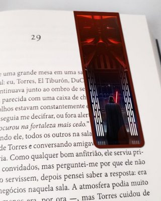 Marcador De Página Magnético Darth Vader - Star Wars - MFI328