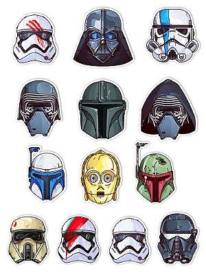 Ímãs Decorativos Star Wars Set E - 13 unid