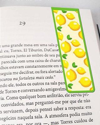 Marcador De Página Magnético Limão - Gourmet - MFE105