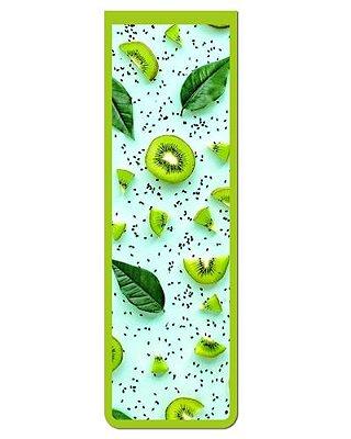 Marcador De Página Magnético Kiwi - Gourmet - MFE109