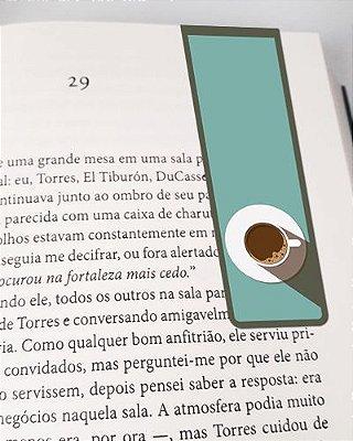 Marcador De Página Magnético Café - Gourmet - MFE110