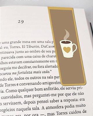 Marcador De Página Magnético Café - Gourmet - MFE113