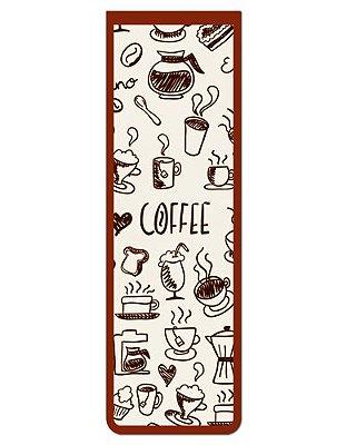 Marcador De Página Magnético Café - Gourmet - MFE118