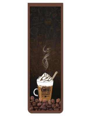 Marcador De Página Magnético Café - Gourmet - MFE119