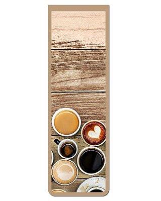 Marcador De Página Magnético Café - Gourmet - MFE122