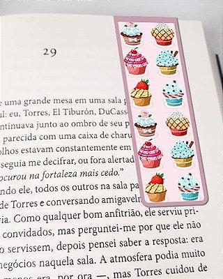 Marcador De Página Magnético Cupcake - Gourmet - MFE127