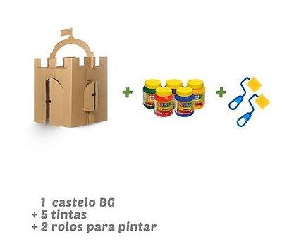 Kit Castelo para pintar