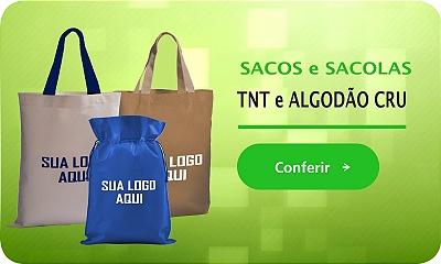 Banner - Sacos e Sacolas de Algodão e TNT