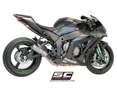 SC Project CR-T Kawasaki ZX-10R 16/17 Titatinum