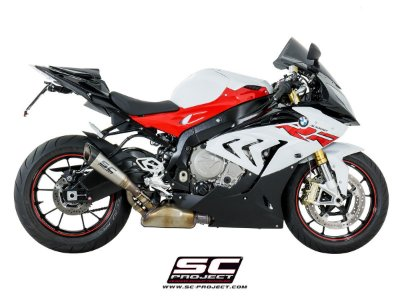 SC PROJECT SILENCER S1 BMW S1000RR 2017 / 2018 TITANIUM