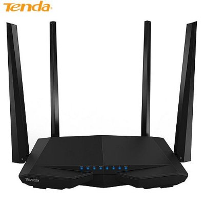 Roteador Tenda Wireless Dual Band, 1200MPBS, 4 Antenas - AC6