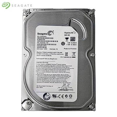 HD Seagate Pipeline Desktop 500GB SATA II 3,5´ 5900RPM Cachê 8MB 3.0Gb/s - ST3500312CS