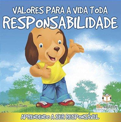 Livro Valores para Toda a Vida: Responsabilidade