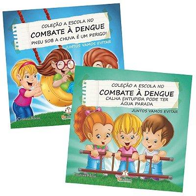Coleção Combate a Dengue com 10 Livros Infantis