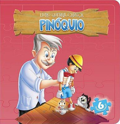 Livro Quebra-Cabeça: Pinoquio