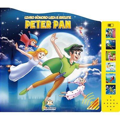 Livro Sonoro Leia e Escute: Peter Pan
