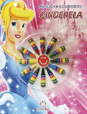 Livro Colorindo e Aprendendo: Cinderela
