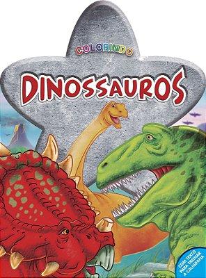 Livro Colorindo: Dinossauros