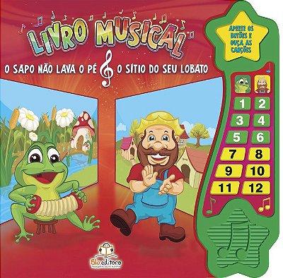 Livro Musical: O Sapo & O Sítio do Seu Lobato.
