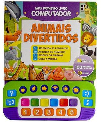 Livro Animais Divertidos - Meu Primeiro Livro Computador