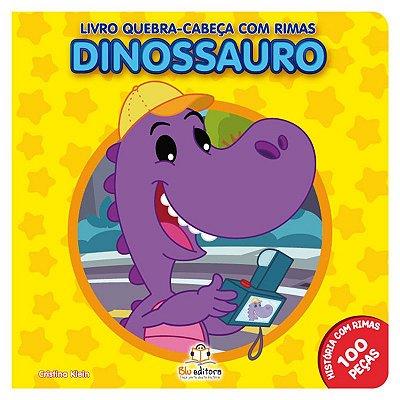 Livro Quebra-Cabeça com Rimas: Dinossauro