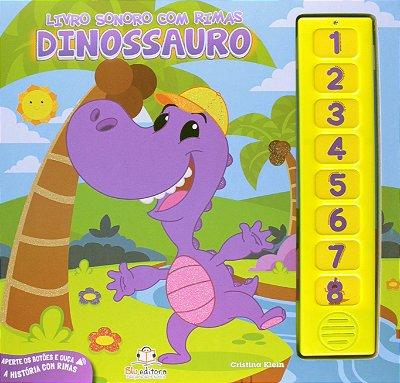 Livro Sonoro com Rimas: Dinossauro